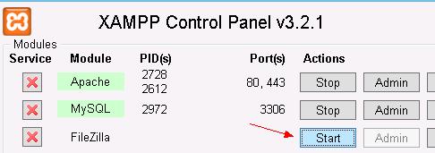 XAMPP-FTP